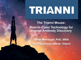 Trianni mouse antibody discovery presentation slides